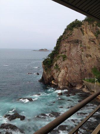Hotel Urashima: 部屋からの景色