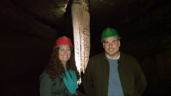 Doolin Cave : They even give you hardhats!!