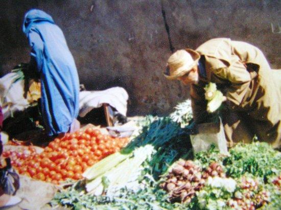 VClub Agadir: Market outside of Marrakesh