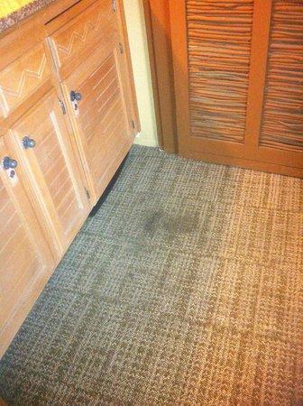 Temecula Creek Inn: lovely disgusting carpet