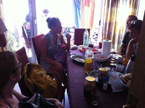 Dubrovnik Backpackers Club Hostel: Best Breakfast!!