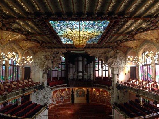 Al piano di sopra picture of palau de la musica orfeo for Planimetrie al piano di sopra