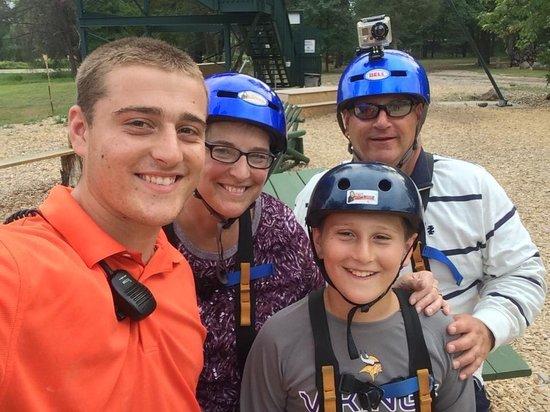 Bigfoot Zipline: Krato family fun