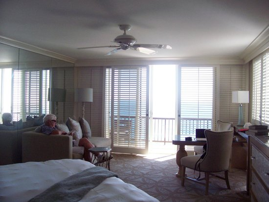 Surf & Sand Resort: Our room viewed from the bed
