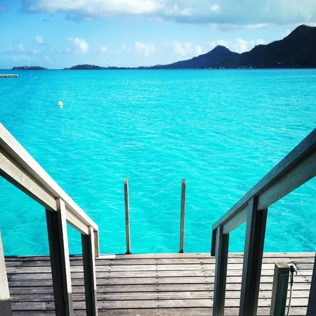 InterContinental Bora Bora Resort & Thalasso Spa: View from our deck