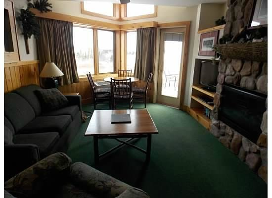 Superior Shores Resort: One part of the room