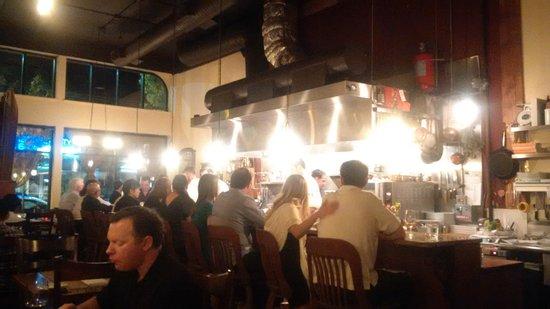 Altura Restaurant: Kitchen view