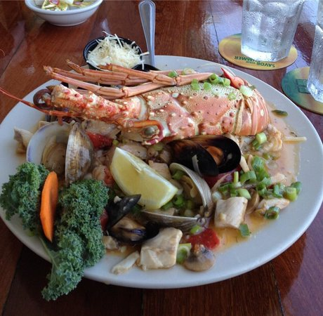 Lazy Days: Hubby's Seafood Casino.  Delicious!