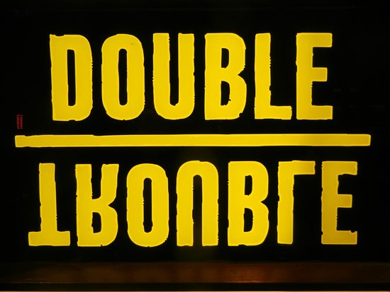 sweet logo picture of double trouble bar prague prague