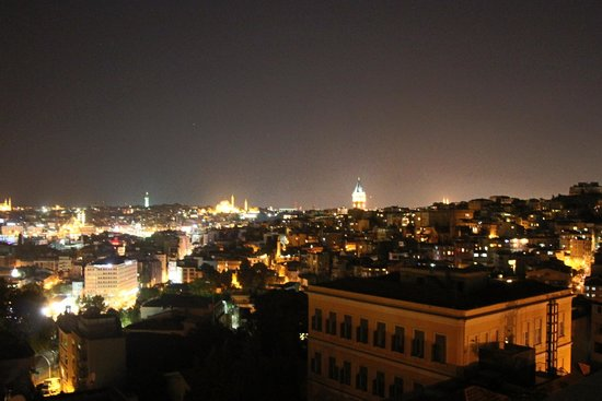 Witt Istanbul Suites : View from 63