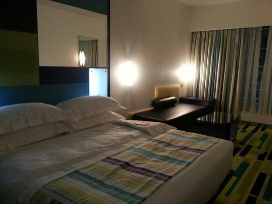 Dubai International Hotel : Chambre