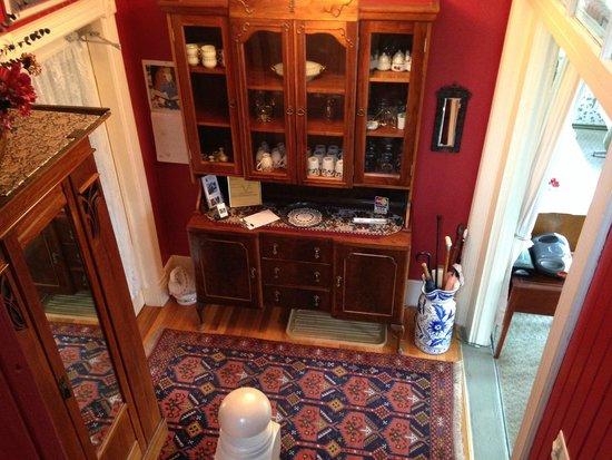 Richmond House B&B: reception area