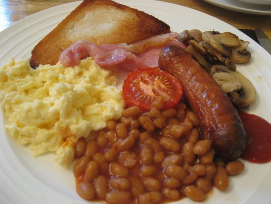 The Lychgate: Nice cooked breakfast