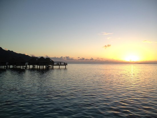 Hilton Moorea Lagoon Resort & Spa : View from our room