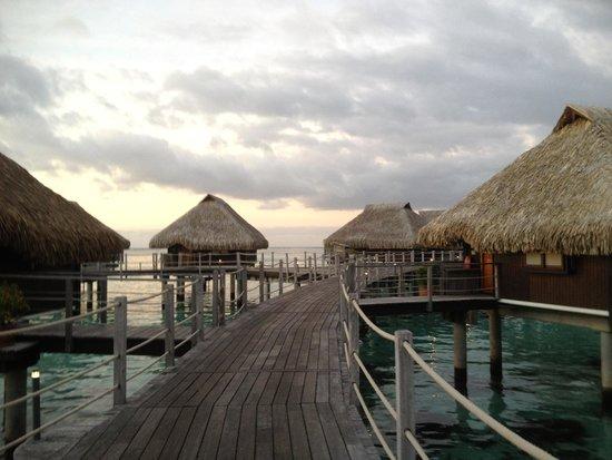 Hilton Moorea Lagoon Resort & Spa : Walkway