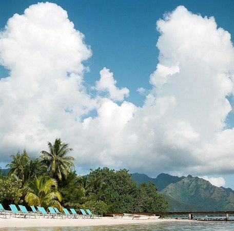 Hilton Moorea Lagoon Resort & Spa : beach