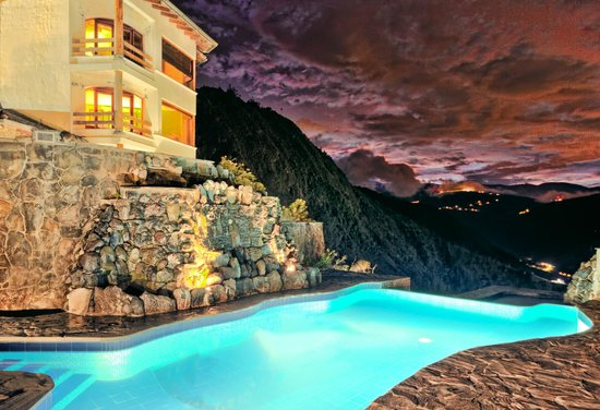 Luna Runtun, Adventure SPA : Piscina grande