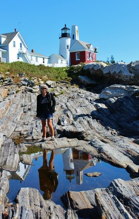 Pemaquid Point Lighthouse: In the AM, sunny and calm for best results