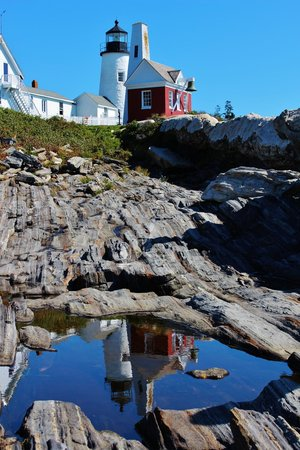 Pemaquid Point Lighthouse: Perfect reflection