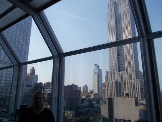The Strand Hotel: la vue sur l'Empire State Building