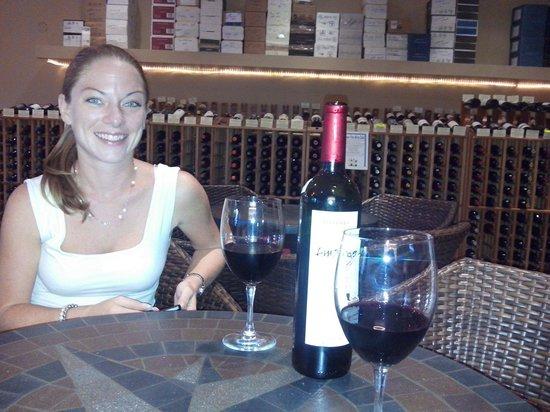 Wine de Vine: My beautiful girlfriend and partner