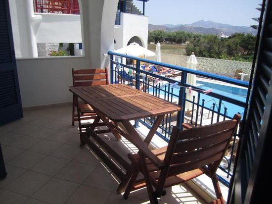 Hotel Katerina: balcon