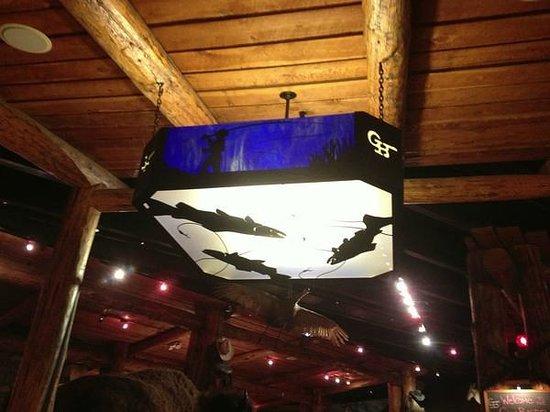 Gun Barrel Steak & Game House: Interior decor