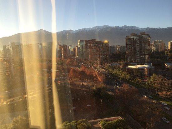 Hotel Santiago: Janela do quarto
