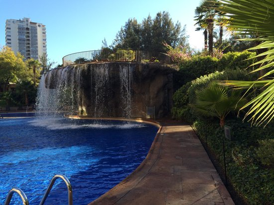 Grand Hyatt Santiago: Piscina