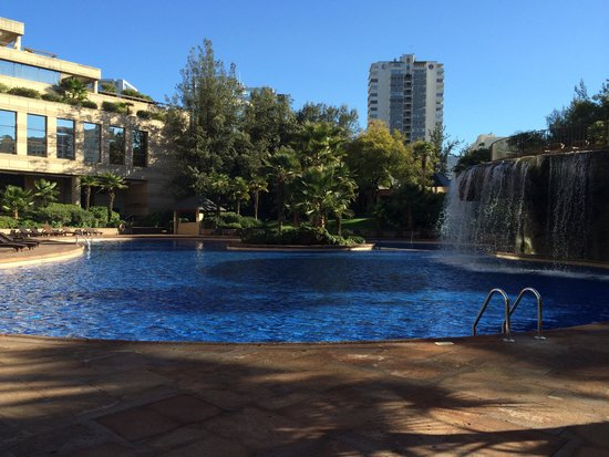 Grand Hyatt Santiago: piscina
