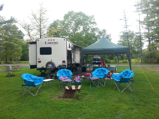 Campsite 17 East at Cayuga Lake State Park