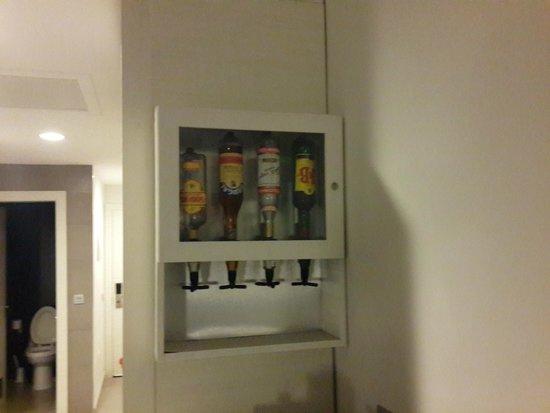 Hotel Riu Palace Bavaro: Licores del minibar