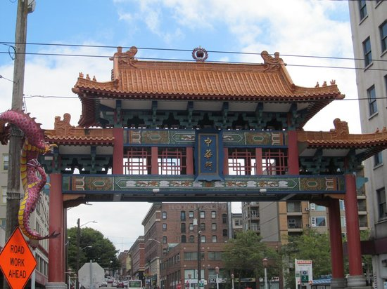 Chinatown International District : Entrance