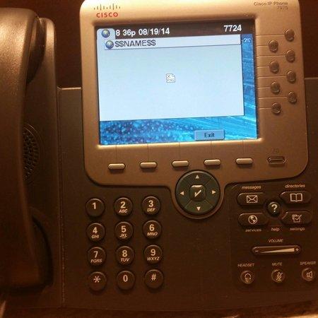 Mohegan Sun Pocono: Phone in room