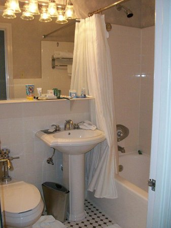 Hilton Cincinnati Netherland Plaza: Bathroom