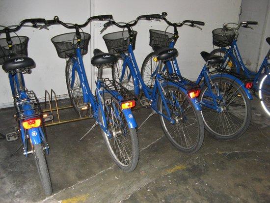 Novo Hotel Rossi: Free bikes