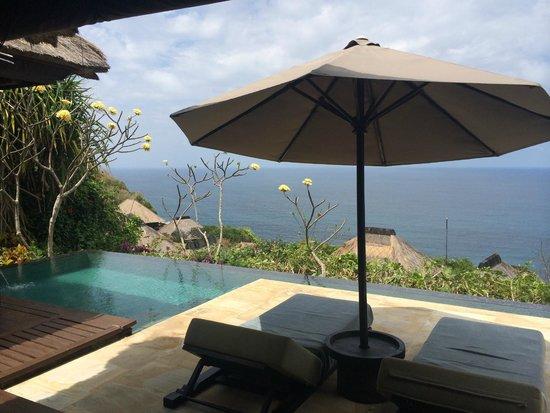 Bulgari Resort Bali: il patio fuori la villa