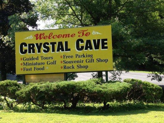 Crystal Cave: Entrance