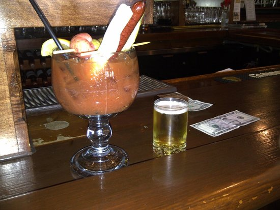 County Clare Irish Inn and Pub: County Clare's Bloody Mary