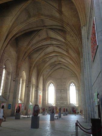 Pope's Palace (Palais des Papes): Ceiling