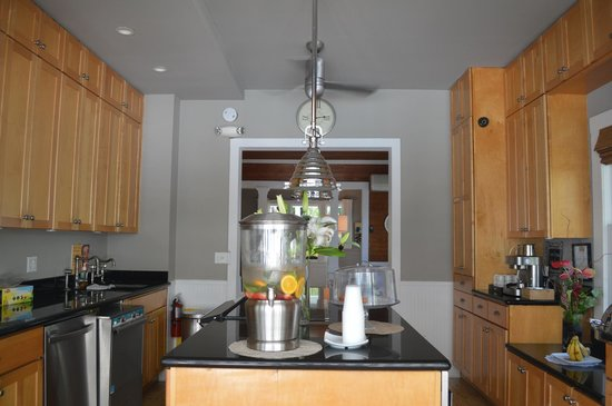 Alexander's LGBT Guesthouse: Beautiful kitchen area