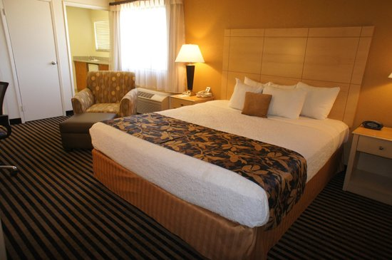 Best Western Plus Executive Inn & Suites: King Mini Suite