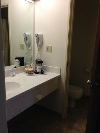 Days Inn Great Falls: Sink