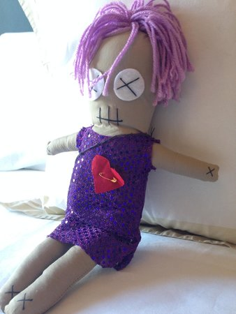 Hotel Maison de Ville: Little voodoo doll close up.