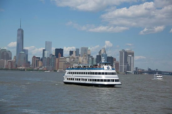Statue of Liberty and Ellis Island Ferry