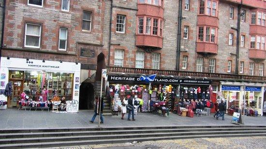 Edinburgh Old Town: Old Town.