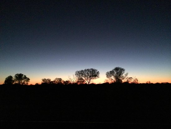 BIG4 Howard Springs Holiday Park : Watching the Sun come up. Morning Star how awesome