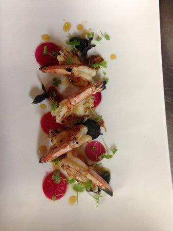 Rasa Restaurant and Lounge: Some Tasty local tiger prawns