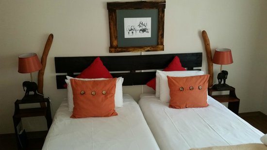 Bush Pillow Guest House: The room!