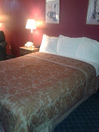 Super 8 Arcata : professionally made bed